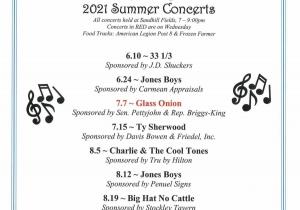 Georgetown Summer Concerts